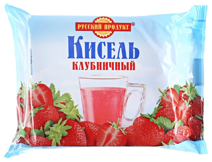 Кисель Русский Продукт Клубничный 220 г