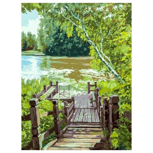 Купить Белоснежка Картина по номерам Лесенка 30х40 см (280-AS), Картины по номерам и контурам