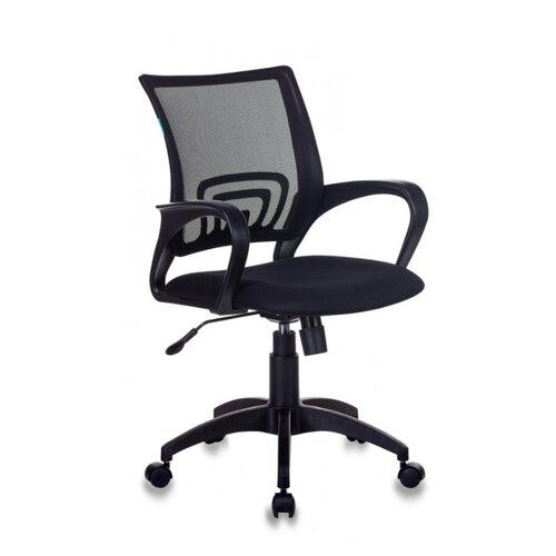 Компьютерное кресло Бюрократ CH-695N офисное, обивка: текстиль, цвет: черный