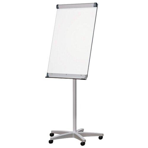 Купить Доска-флипчарт магнитно-маркерная 2x3 на колесах TF03 (100х70 см) белый/серый, Доски