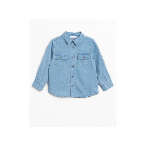цена на Рубашка COCCODRILLO размер 74, голубой