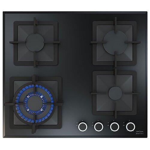 Газовая варочная панель Krona CALORE 60 BL встраиваемая газовая варочная панель krona calore 60 wh