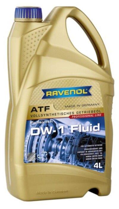 Трансмиссионное масло Ravenol ATF DW-1 Fluid 1l
