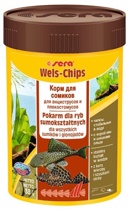 Сухой корм Sera Wels Chips для рыб
