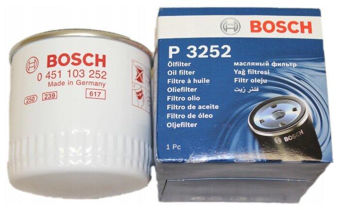 Масляный фильтр BOSCH 0451103252