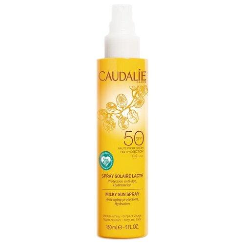 Caudalie Молочко-спрей для тела и лица солнцезащитный SPF50 150 мл спрей для тела caudalie caudalie ca104lwiw467