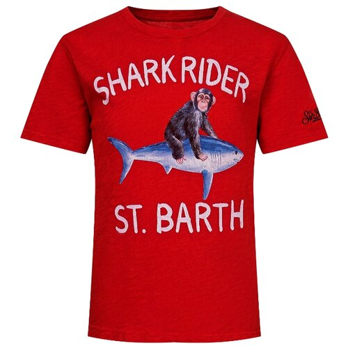 Фото - Футболка MC2 Saint Barth размер 128, красный футболка mc2 saint barth размер 128 белый