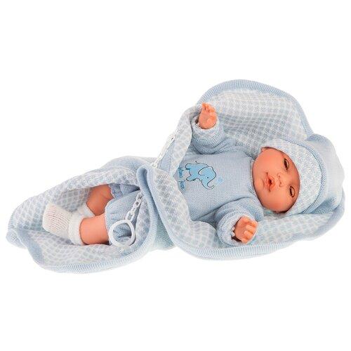 Купить Кукла Antonio Juan Вега в голубом, 37 см, 1452B, Куклы и пупсы