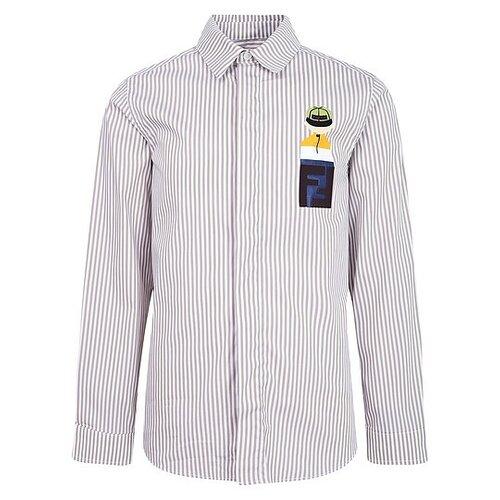 Рубашка FENDI размер 140, бежевый худи fendi размер 140 белый