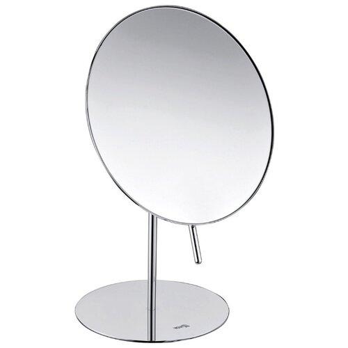 Зеркало косметическое настольное WasserKRAFT K-1002 хром зеркало косметическое swensa 20 см настольное хром l01 8