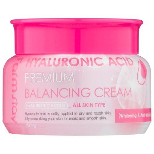 Farmstay Hyaluronic Acid Premium Balancing Cream балансирующий крем для лица с гиалуроновой кислотой, 100 г