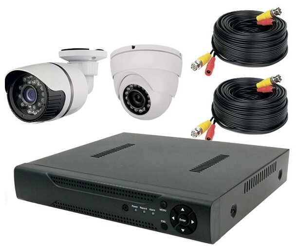 Комплект видеонаблюдения PS-Link KIT-B202HD 2 камеры