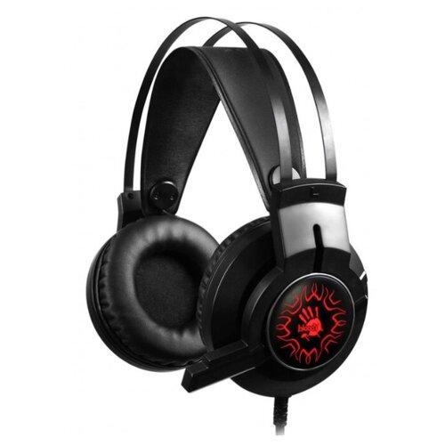 Наушники с микрофоном A4 Bloody J437 черный 2.2м мониторы USB (J437)