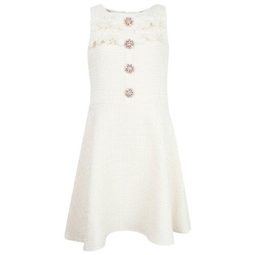 Платье David Charles размер 116, кремовый