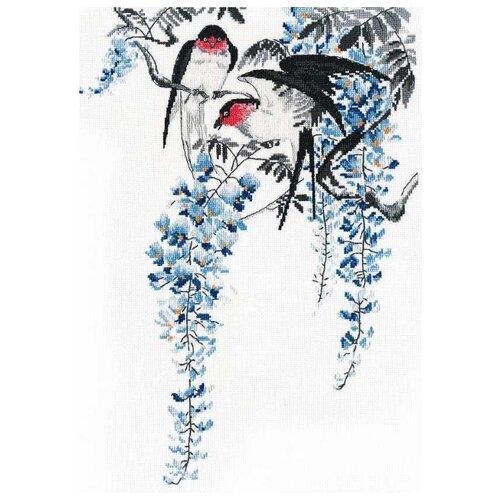 Овен Набор для вышивания 1283 На ветвях глицинии, Наборы для вышивания  - купить со скидкой