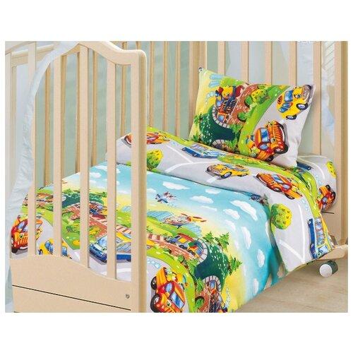 Детское постельное белье Детский парк, бязь, ясельный