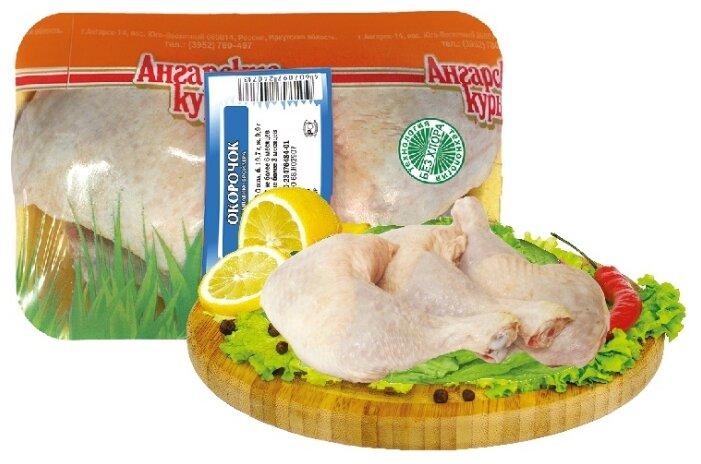 Ангарская птицефабрика Окорочка цыпленка-бройлера замороженные, 1 кг