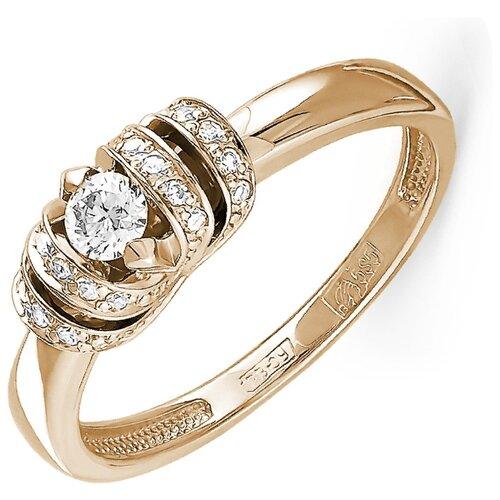 KABAROVSKY Кольцо с 21 бриллиантом из красного золота 11-0771-1000, размер 17