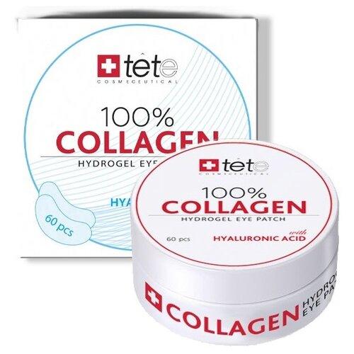 TETe Cosmeceutical Коллагеновые патчи под глаза 100% Collagen Hydrogel Eye Patch (60 шт.) комплект ковриков tete a tete tete a tete mp002xu02nsy