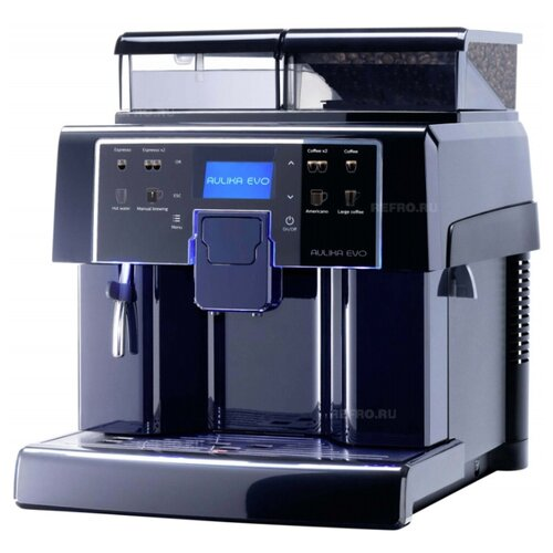 Кофемашина Saeco Aulika EVO Black черный кофемашина philips saeco hd 8829 09