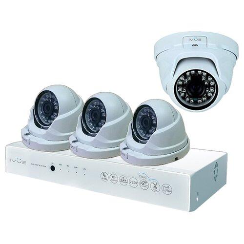 Комплект видеонаблюдения IVUE D5008-PPC-D4 4 камеры ivue ipc ob40f36 20p