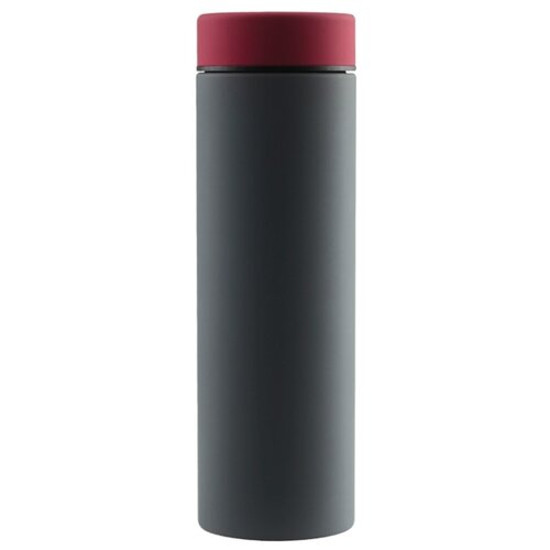 Классический термос asobu Le baton travel (0,5 л) серый/красный