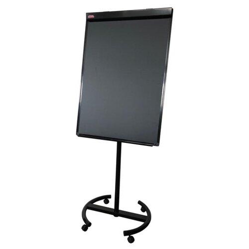Купить Доска-флипчарт магнитно-меловая Attache Loft на колесах 827606 (100х70 см) черный, Доски