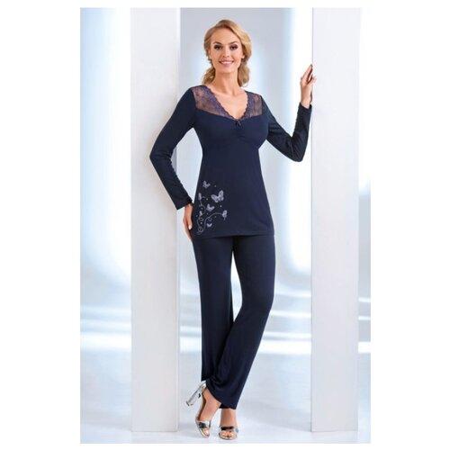 Пижама Donna размер S темно-синий жилет женский u s polo assn цвет темно синий g082sz0100mia8k vr033 размер 34 42