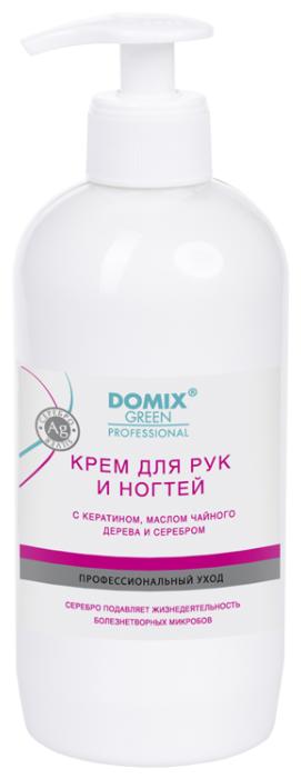 Стоит ли покупать Крем для рук и ногтей Domix Green Professional с кератином, маслом чайного дерева и серебром 500 мл - 13 отзывов на Яндекс.Маркете