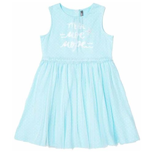 Купить Платье crockid Крапинка размер 122, аквамарин, Платья и сарафаны