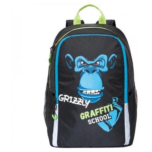 Купить Grizzly Рюкзак (RB-051-6 /1), черный, Рюкзаки, ранцы