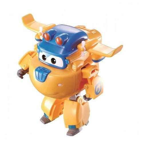Трансформер Alpha Toys Super Wings Transforming Build-It Донни EU730212 желтый