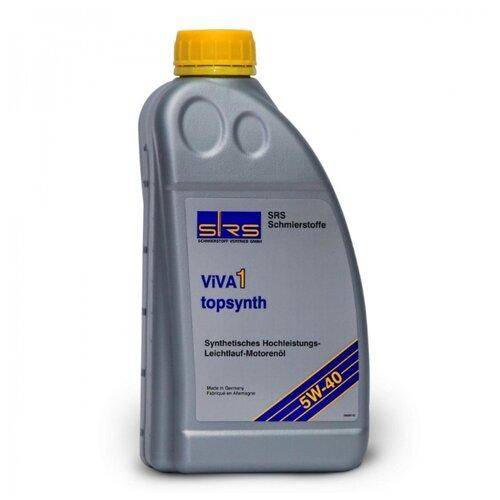 Моторное масло SRS VIVA 1 Topsynth 5W40 1 л