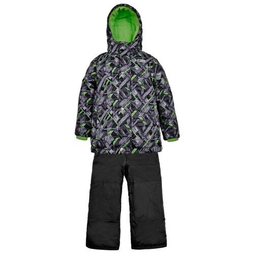 Купить Комплект с полукомбинезоном GUSTI Salve SWB 6416 размер 6/116, black, Комплекты верхней одежды