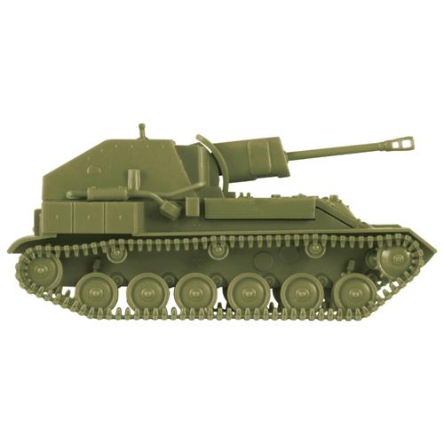 Купить Сборная модель ZVEZDA Советская сау СУ-76М (6239) 1:100, Сборные модели