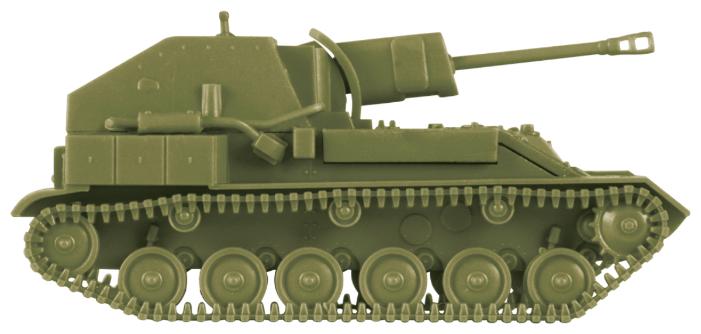 Сборная модель ZVEZDA Советская сау СУ-76М (6239) 1:100