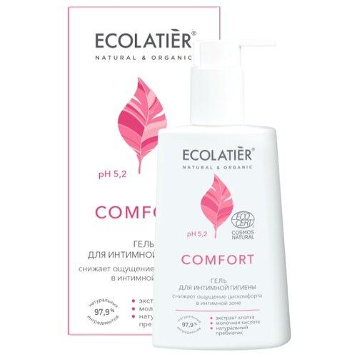 ECOLATIER Гель для интимной гигиены Comfort, 250 мл