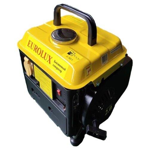 Бензиновый генератор Eurolux G950A (650 Вт)