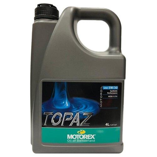 Фото - Синтетическое моторное масло Motorex Topaz 5W-30 4 л синтетическое моторное масло motorex power synt 4t 5w 40 4 л