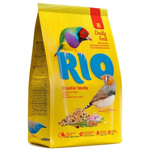 RIO корм Daily feed для экзотических птиц 1000 г