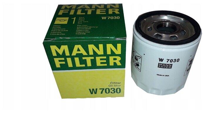 Масляный фильтр MANNFILTER W7030