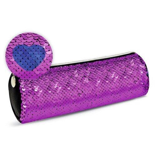 Феникс+ Пенал-косметичка с пайетками (48927) фуксия феникс пенал косметичка бабочки 46253 фиолетовый