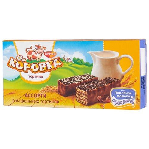 Торт Коровка Ассорти со вкусом топленого молока 200 г baraka бабочка ассорти трюфелей 200 г
