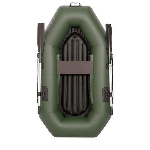 Надувная лодка Лоцман С-220 ВНД зеленый надувная лодка leader компакт 200 зеленый