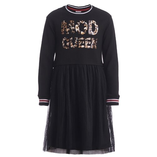 Платье Gulliver размер 146, черный