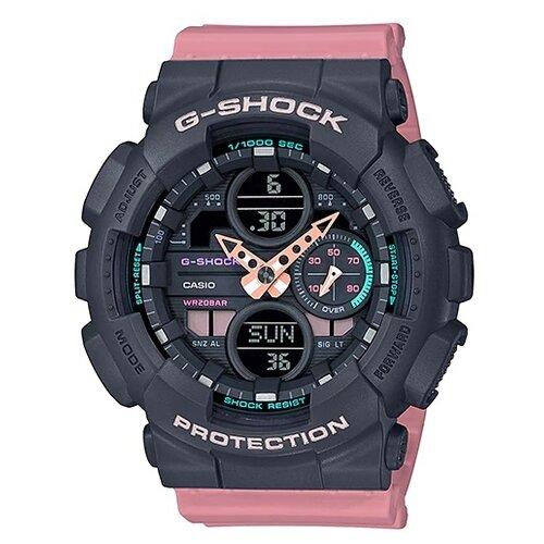 цена Наручные часы CASIO GMA-S140-4A онлайн в 2017 году