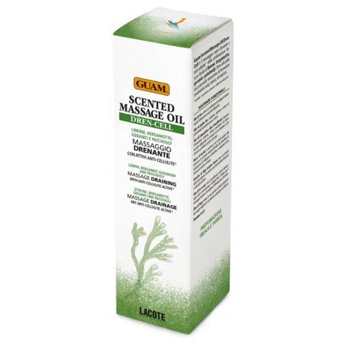 Guam масло ароматическое Algascrub Dren-cell для тела с дренажным эффектом 150 мл