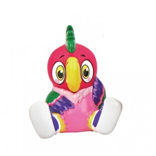 Купить Игрушка для ванной Затейники Союзмультфильм Попугай Кеша (GT7774) розовый/фиолетовый, Игрушки для ванной