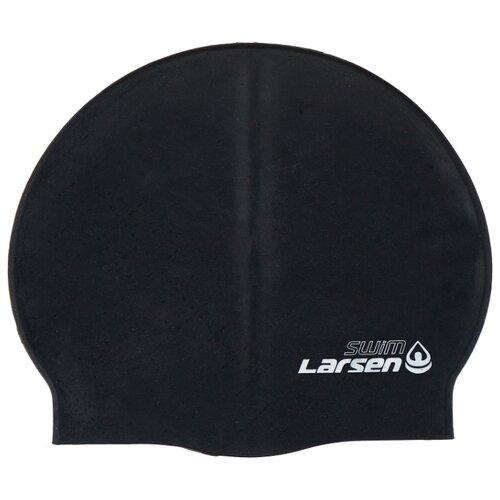 Шапочка для плавания Larsen SC14 (SC208) черный цена 2017