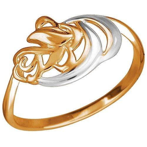 Эстет Кольцо из красного золота 01К0112620Р, размер 17.5